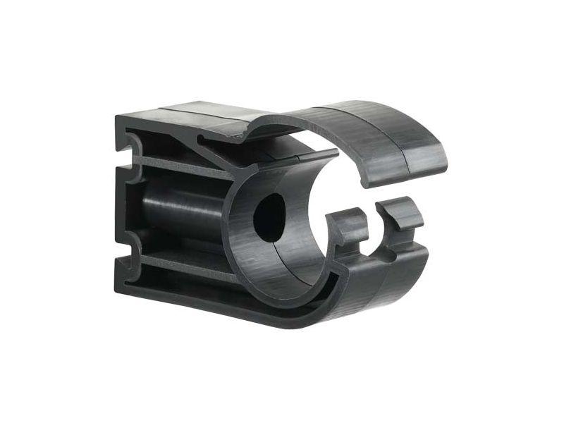 Clip de fixation pour tubes Diam. Ext. 40 mm pour réseau air comprimé
