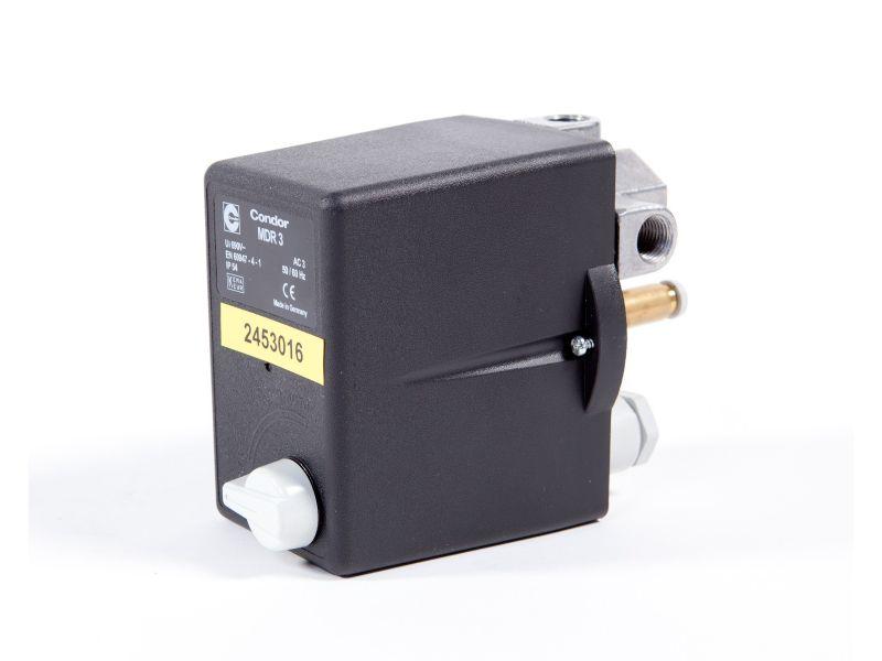 Pressostat Condor avec relais thermique 2.5 cv/1.8 kW 16 bar 4 A 1/2