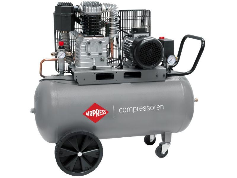 Compresseur HK 425-90 10 bar 3 cv/2.2 kW 280 l/min 90 L