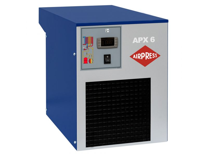 Sécheur d'air frigorifique APX-6 600 l/min 16 bar 230V/ 50Hz/ 1Ph 3/4