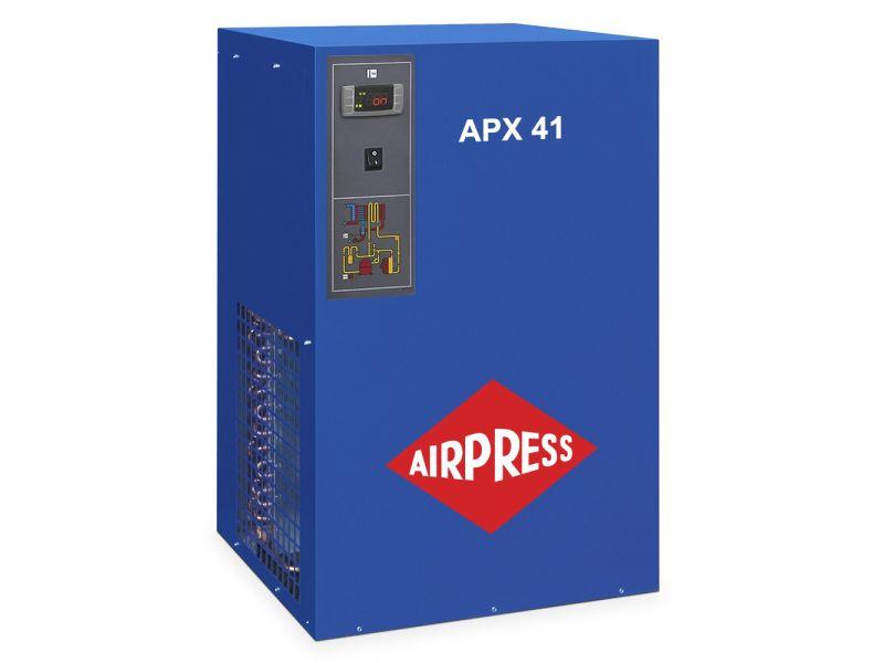 Sécheur d'air frigorifique APX-41 1 4100 l/min 13 bar 230V/ 50Hz/ 1Ph 1 1/2