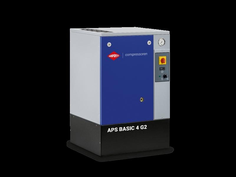 Compresseur à vis APS 4 Basic G2 10 bar 4 cv 366 l/min