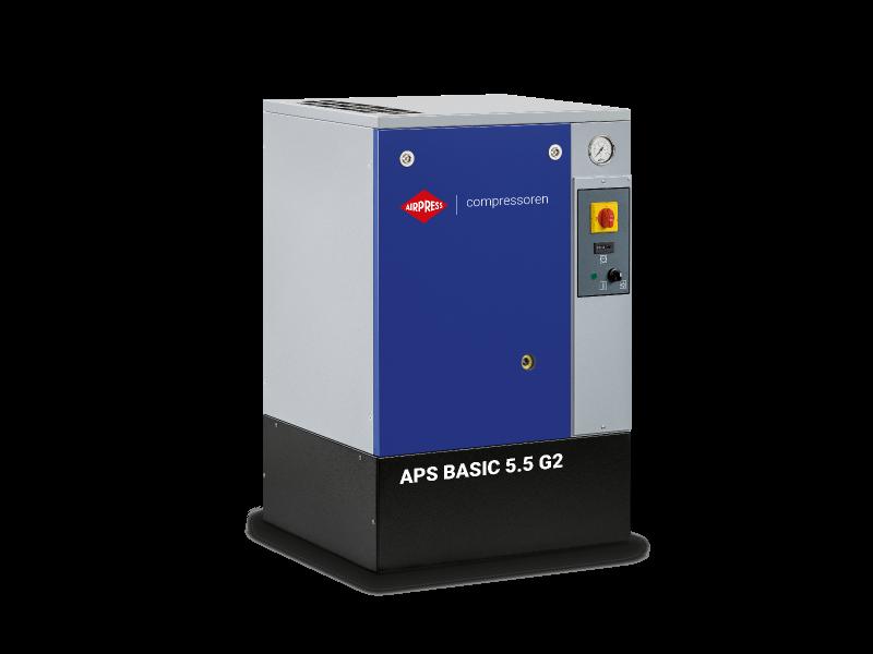 Compresseur à vis APS 5.5 Basic G2 10 bar 5.5 cv/4 kW 516 l/min