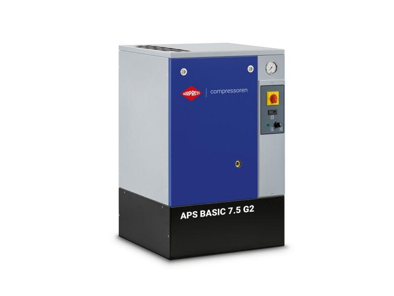 Compresseur à vis APS 7.5 Basic G2 10 bar 7.5 cv/5.5 kW 780 l/min
