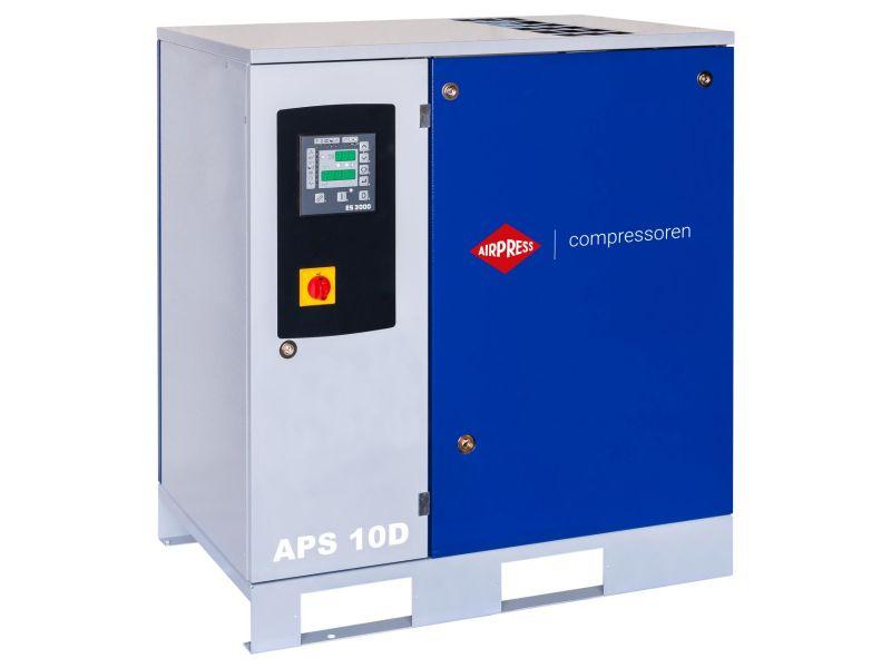 Compresseur à vis APS 10D 10 bar 10 cv/7.5 kW 1000 l/min