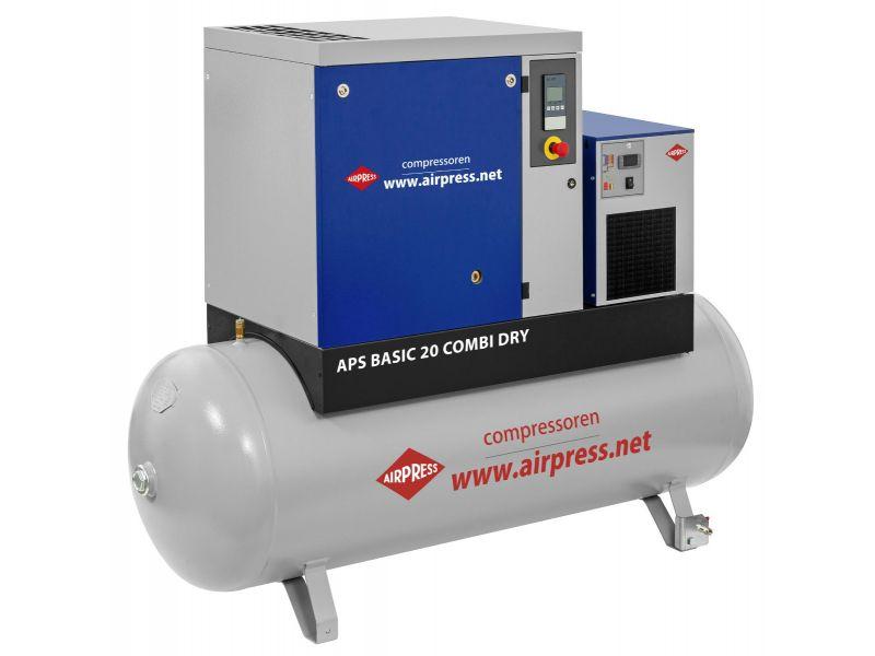 Compresseur à vis APS 20 Basic Combi Dry 10 bar 20 cv 1680 l/min 500 L