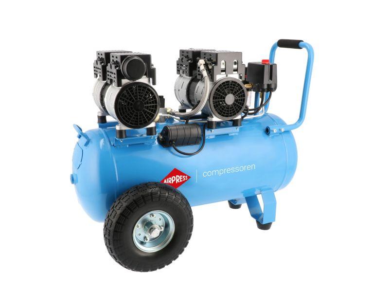 Compresseur Silencieux Sans Huile LMO 50-270 8 bar 2 cv/1.5 kW 185 l/min 50 L