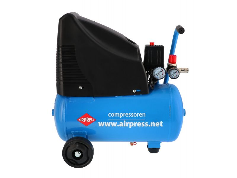 Ensemble Compresseur HLO 215-25 et accessoires 8 bar 1.5 pk 172 l/min 24 l