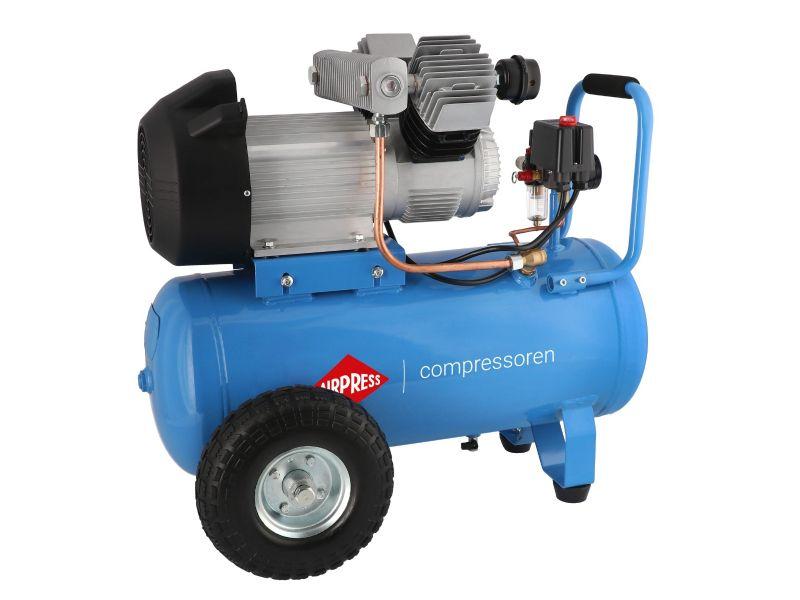 Compresseur LM 50-350 10 bar 3 cv/2.2 kW 244 l/min 50 L