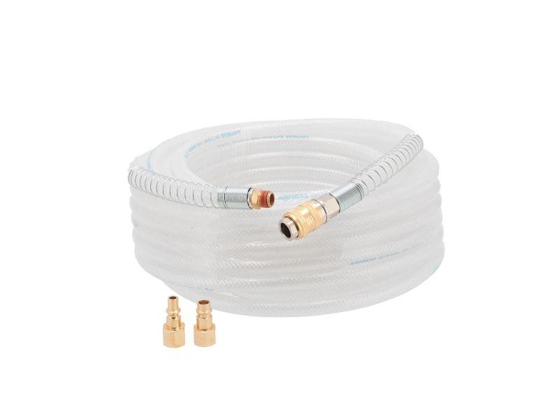 Tuyau PVC Nylon tressé 8 x 14 mm 15 m 20 bar 1/4
