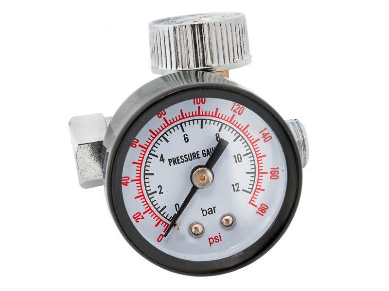 Réducteur de pression avec manomètre 1/4