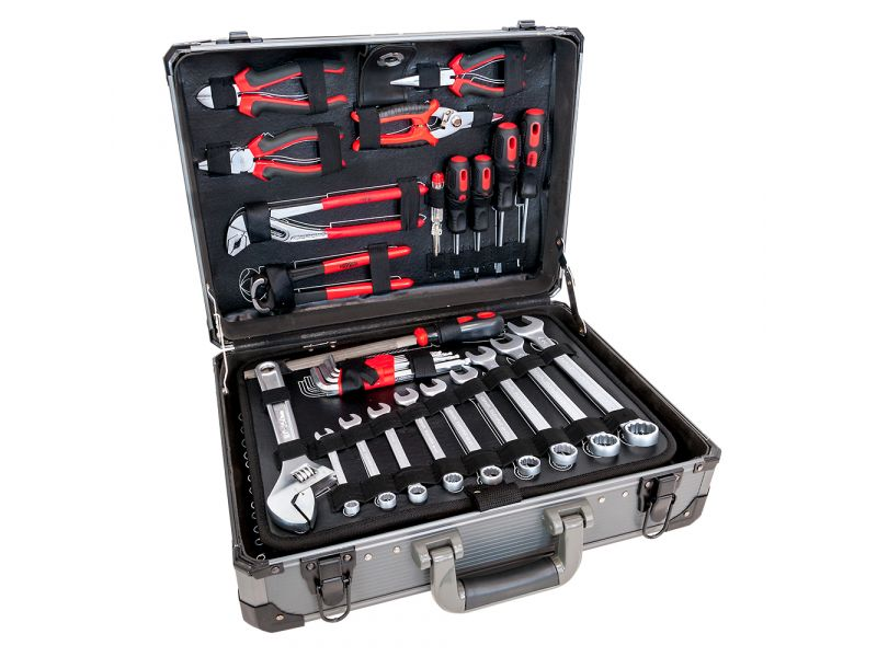 Coffret Aluminium outillage à main 127 pieces