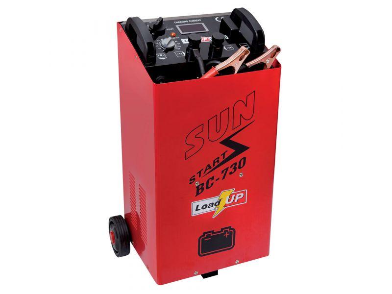 Chargeur de batterie BC730 50A 14/24V 40-1500Ah avec assistance au démarrage
