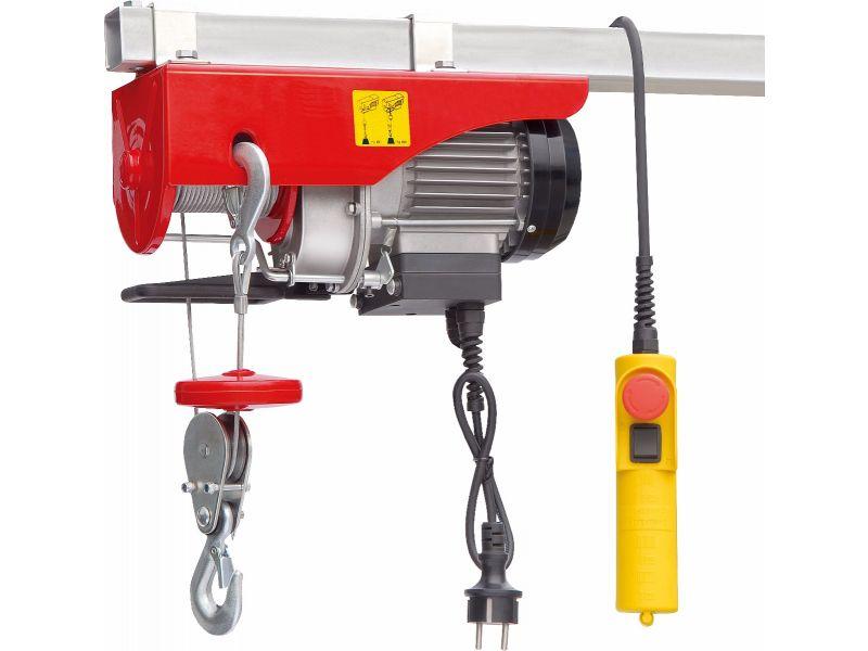 Palans électriques 125/250 kg 10-5 m/min 12 m 0.5 kW