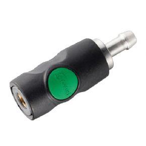 Raccord rapide de sécurité Type Euro pour tuyau 8 mm Prevost