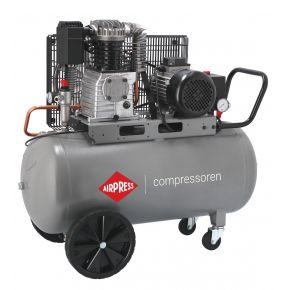 Compresseur HK 425-100 10 bar 3 ch/2.2 kW 280 l/min 100 L