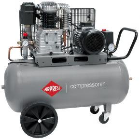 Compresseur HK 425-90 10 bar 3 ch/2.2 kW 280 l/min 90 L