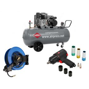 Compresseur HL 425-200 Pro 10 bar 3 ch/2.2 kW 280 l/min 200 L Plug & Play