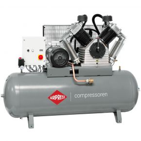 Compresseur HK 2500-500 SD Pro 11 bar 20 ch/15 kW 1700 l/min 500 L - démarreur étoile/triangle