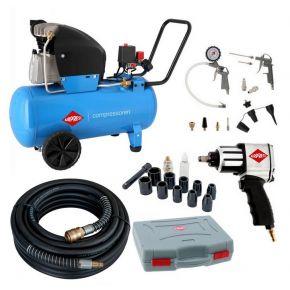 Compresseur HL 360-50 10 bar 2.5 ch/1.8 kW 288 l/min 50 L Plug & Play