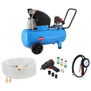 Compresseur HL 360-50 10 bar 2.5 cv/1.8 kW 288 l/min 50 L Plug & Play