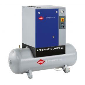Compresseur à vis APS 10 Basic Combi G2 10 bar 10 cv/7.5 kW 984 l/min 500 L