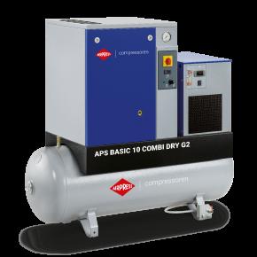 Compresseur à vis APS 10 Basic Combi Dry G2 10 bar 10 cv 984 l/min 500 L