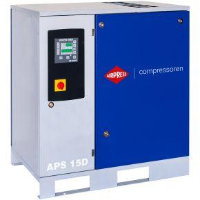 Compresseur à vis APS 15D 8 bar 15 cv 1665 l/min