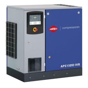 Compresseur à vis APS15DD IVR Onduleur 12.5 bar 15 ch/11 kW 265-1860 l/min