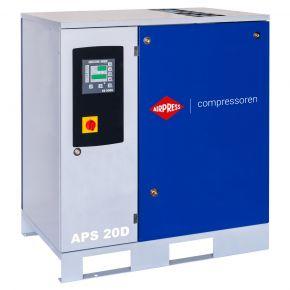 Compresseur à vis APS 20D 8 bar 20 ch/15 kW 2000 l/min