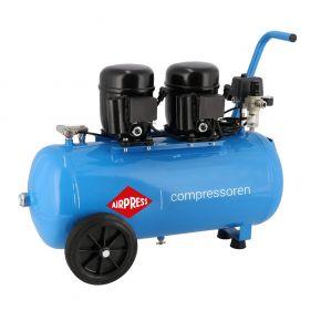 Compresseur Extra Silencieux L 100-50 8 bar 1 ch/0.74 kW 80 l/min 50 L