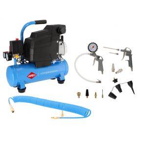 Compresseur H 185-6 8 bar 1.5 ch/1.1 kW 75 l/min 6 L Plug & Play