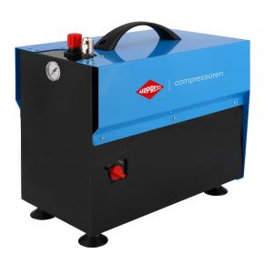 Mini Compresseur Silencieux Sans Huile LMO 5-210 10 bar 0.75 ch/0.55 kW 85 l/min 5 L