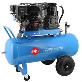 Compresseur Essence Mobile BM 100-330 10 bar 5.5 cv/4 kW 165l/min 100 L