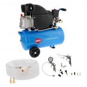 Compresseur HL 310-25 8 bar 2 cv/1.5 kW 157 l/min 24 l Plug & Play