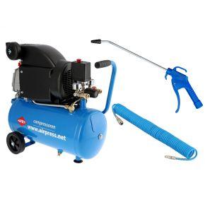 Compresseur HL 310-25 8 bar 2 cv/1.5 kW 130 l/min 24 L Plug & Play