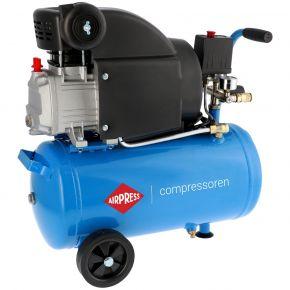 Compresseur HL 310-25 8 bar 2 ch/1.49 kW 157 l/min 24 L