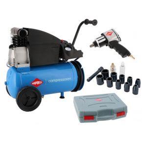 Compresseur H 360-25 10 bar 2.5 ch/1.8 kW 288 l/min 25 L Plug & Play