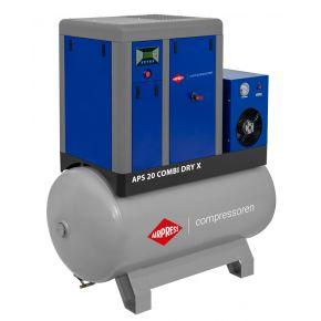 Compresseur à vis APS-X 20 Combi Dry 10 bar 20 ch/15 kW 1870 l/min 500 L