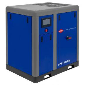 Compresseur à vis APS 15 IVR X Onduleur 10 bar 15 cv/11 kW 380-1410 l/min