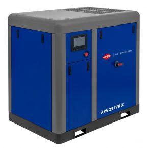 Compresseur à vis APS-X 25 IVR Onduleur 10 bar 25 ch/18.5 kW 660-2300 l/min
