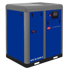 Compresseur à vis APS 30 IVR X Onduleur Bi-étagé 10 bar 30 cv/22 kW 1130-4060 l/min