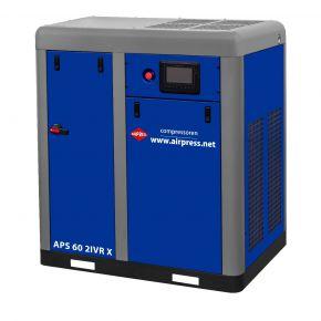 Compresseur à vis APS 60 IVR X Onduleur Bi-étagé 10 bar 60 cv/45 kW 3010-7710 l/min