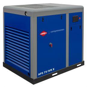 Compresseur à vis APS-X 75 IVR Onduleur 10 bar 75 ch/55 kW 2700-8710 l/min