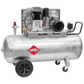 Compresseur G 700-300 Pro 11 bar 5.5 ch/4 kW 530 l/min 270 L Cuve galvanisée