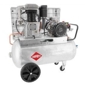 Compresseur G 700-90 Pro 11 bar 5.5 ch/4 kW 530 l/min 90 L 400V