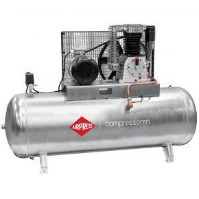 Compresseur G 1500-500 Pro 11 bar 10 ch/7.5 kW 859 l/min 500 L Cuve galvanisée