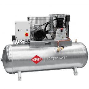 Compresseur G 1500-500 SD Pro 14 bar 10 ch/7.5 kW 686 l/min 500 L Cuve galvanisée - démarreur étoile/triangle