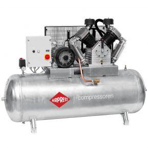 Compresseur G 2000-500 SD Pro 11 bar 15 ch/11 kW 1395 l/min 500 l Cuve galvanisée démarreur étoile-triangle