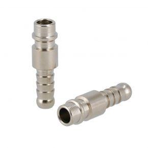 Embouts pneumatiques pour tuyau 8 mm Type Euro - 2 pièces sous blister